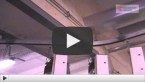 Подвесной конвейер для подачи тары